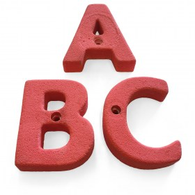 ABC Letter Climbing Holds